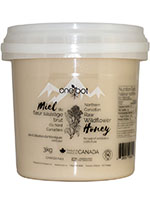 Oneroot Raw Wildflower Honey 3kg Front