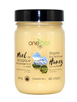 Oneroot Organic Raw Wildflower Honey 500g Front