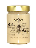 Oneroot Natural Raw Wildflower Honey 500g Front